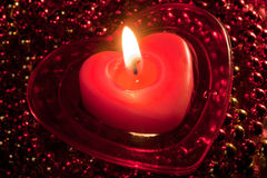 Amour brûlant Photographie stock libre de droits