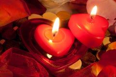 Amour brûlant Photos libres de droits