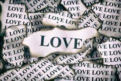 Amour brûlé Photo stock