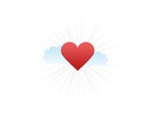 Amour brillant Images libres de droits