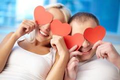 Amour chaleureux Photos libres de droits