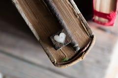 Amour, clé de concept de valentine Photo libre de droits