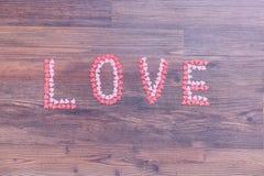 Amour, coeur, décoration, valentines Photographie stock libre de droits