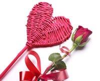 Amour Coeur rouge Photographie stock libre de droits