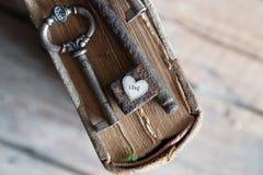 Amour, concept de valentine Photographie stock libre de droits