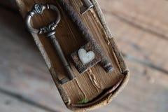 Amour, concept de valentine Photos stock