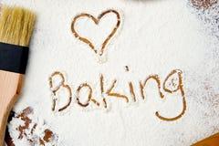 Amour - cuisson de coeur Photo libre de droits