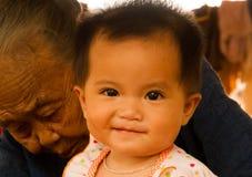 Amour d'âge différent Photo libre de droits