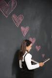 Amour d'école Images stock