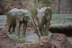 Amour d'éléphant Images libres de droits