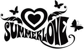 Amour d'été Photo stock
