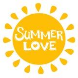 Amour d'été Photographie stock