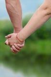 Amour d'amitié Images libres de droits