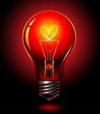 amour d'ampoule Photos libres de droits