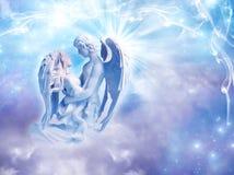 Amour d'ange Photographie stock libre de droits