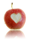 Amour d'Apple Image libre de droits