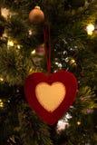 Amour d'arbre de Noël Images libres de droits
