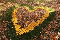 Amour d'automne Photos stock