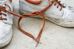 Amour d'espadrille Photo libre de droits