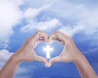 amour d'i Jésus Photos libres de droits