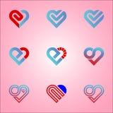 amour d'icône de logo illustration libre de droits