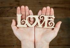 Amour d'inscription disponible Photos stock