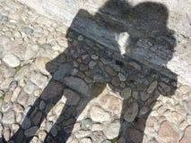Amour d'ombre photo libre de droits