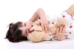 Amour d'ours de nounours Photographie stock libre de droits