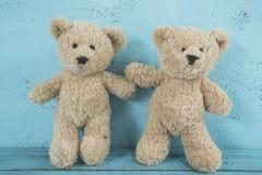 Amour d'ours de nounours Photo stock