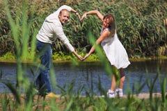 Amour dans deux Photo libre de droits