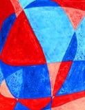 Amour dans l'art abstrait de fond Images libres de droits