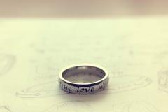 Amour dans la couleur de style de vintage Photo libre de droits