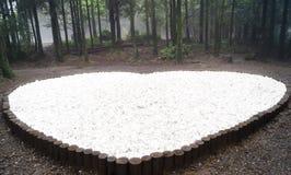 Amour dans la forêt Image libre de droits