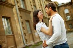 Amour dans la vieille ville Photo stock