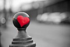 Amour dans la ville Photographie stock libre de droits