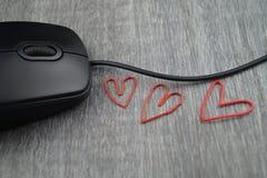 Amour dans le bureau Image stock