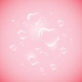 Amour dans le ciel Photographie stock libre de droits