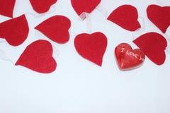 Amour dans le cycle Images stock