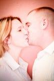 Amour dans le rose Photographie stock libre de droits
