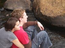 Amour dans le sauvage Photographie stock libre de droits