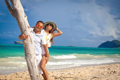 Amour dans le soleil d'été Image libre de droits