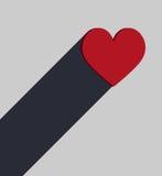 Amour dans le soulagement Image libre de droits