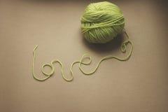 Amour dans les fils Image libre de droits