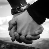 Amour dans les montagnes Photographie stock libre de droits