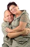 Amour dans tout l'âge Photo libre de droits