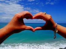 Amour dans Tropea, Italie Image libre de droits