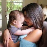 Amour de bébé Photographie stock