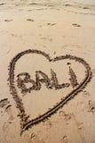 Amour de Bali Photographie stock libre de droits