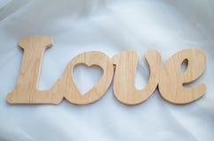 Amour de bois Images stock
