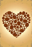 Amour de café Image libre de droits